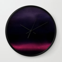 Dark Days Wall Clock