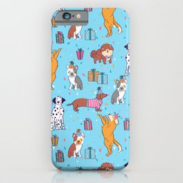 Puppy Party iPhone Case