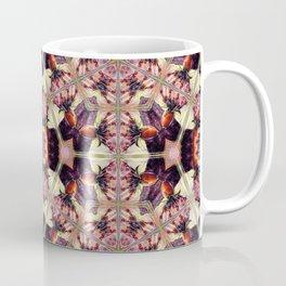 Morning Rose Kaleidoscope Photographic Pattern #1 Coffee Mug