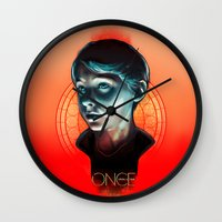 ouat Wall Clocks featuring Henry - OUAT by Seventy-three