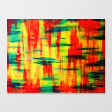 Dry Brush Canvas Print
