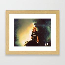 Numb. Framed Art Print