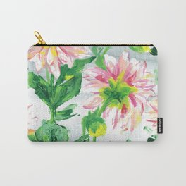 Dahlias on a cloudy day Carry-All Pouch