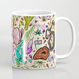 Pisces Pride Flash Botanical  Coffee Mug