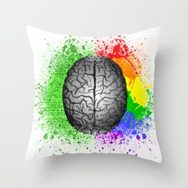 Conflict Within Throw Pillow