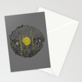 Sound on the underground Stationery Cards