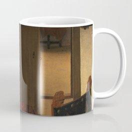 "Johannes Vermeer ""A Woman Asleep at Table"" Coffee Mug"
