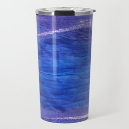 Cerulean blue Travel Mug