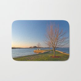 Casino Island Sunset Bath Mat