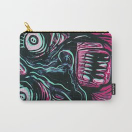 Pink Crazy Fella Carry-All Pouch