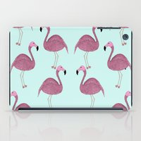 flamingo iPad Cases featuring Flamingo by Frida Strömshed