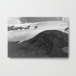 Glacial Icefield Metal Print
