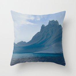 Antarctic Iceberg Throw Pillow