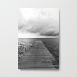 Seebrücke Metal Print