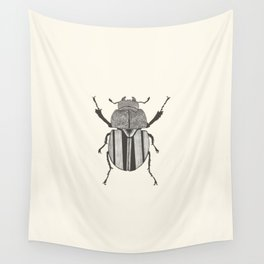 Graphic ekoxe stag beetle Wall Tapestry