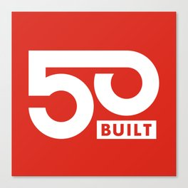 50 BUILT LLC Canvas Print