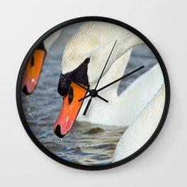 The Swan Lake Wall Clock