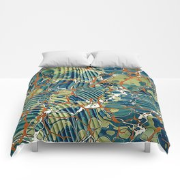 Old Marbled Paper 05 Comforters
