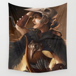 Time to roast marshmallows Wall Tapestry