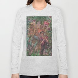 gay and tropical Long Sleeve T-shirt