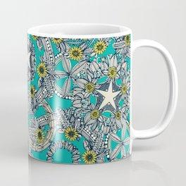 cirque fleur turquoise stone star Coffee Mug