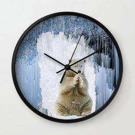 The Ice King Wall Clock
