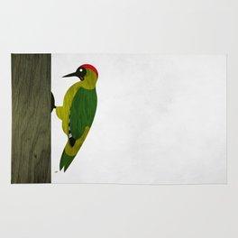 Green Woodpecker Rug