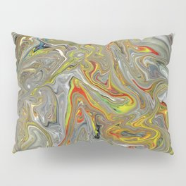 Abstract Oil Painting 30 Pillow Sham