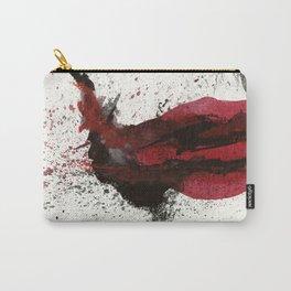 Joker TDK - Heath Ledger Watercolor Splatter Artwork Carry-All Pouch