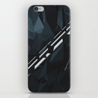 milky way iPhone & iPod Skins featuring Milky Way by Elvijs Pūce