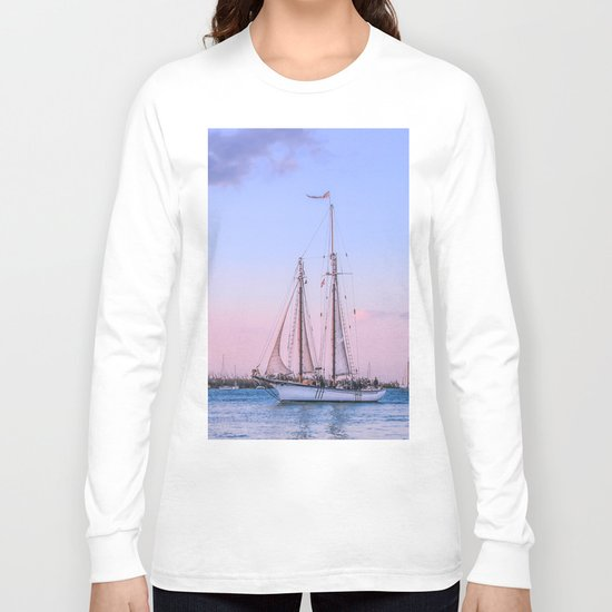 Sailing Yacht Long Sleeve T-shirt