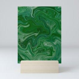 Malachite Marble Mini Art Print