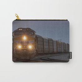 Twilight Freight Train Carry-All Pouch