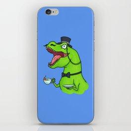 Tea Rex iPhone Skin