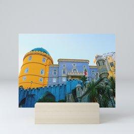 European Castle Mini Art Print