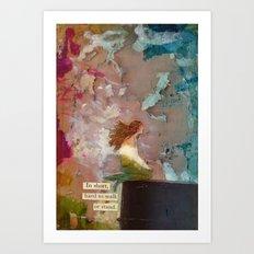 Dry Art Print