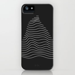 Minimal Triangle Warp iPhone Case