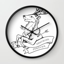 Modern Baseball // Rock Bottom Wall Clock