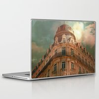 france Laptop & iPad Skins featuring Montpellier  - France by Victoria Herrera