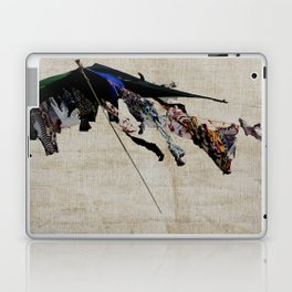 clothes in the wind Laptop & iPad Skin