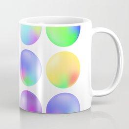 Colorful fluid bubbles Coffee Mug