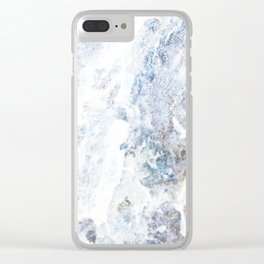 Earth Marble Clear iPhone Case