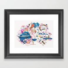 Dagat Framed Art Print
