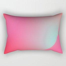 Light, sound, flowers, sky Rectangular Pillow