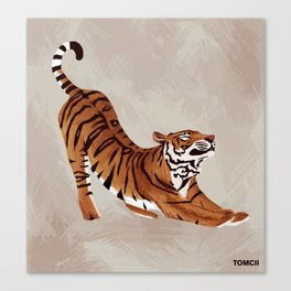 Tiger Stretch Canvas Print