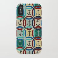 anchors iPhone & iPod Cases featuring anchors by Sharon Turner