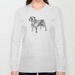 Staffie #2 Long Sleeve T-shirt