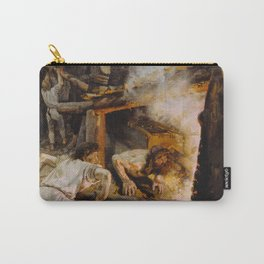 Akseli Gallen-Kallela - The Forging of the Sampo - Finnish Fine Art Carry-All Pouch