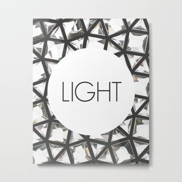 Let Light In Metal Print