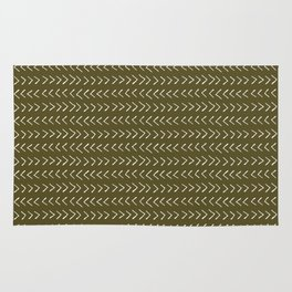 Arrows on Bronze-Olive Rug